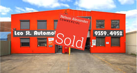 Factory, Warehouse & Industrial commercial property sold at 18 Leo Street Fawkner VIC 3060