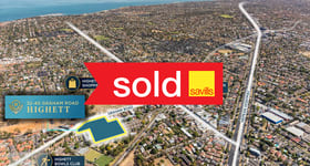 Development / Land commercial property sold at 32-40 Graham Road Highett VIC 3190