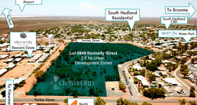 Development / Land commercial property for sale at Lot 5954/ Kennedy Street South Hedland WA 6722