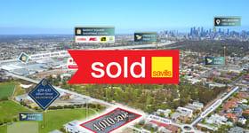 Development / Land commercial property sold at 429-435 Albert Street Brunswick VIC 3056