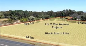 Development / Land commercial property for sale at Lot 2 Roe Avenue Pinjarra WA 6208