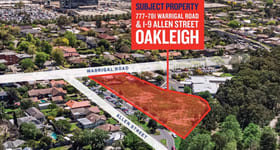 Development / Land commercial property sold at 777-781 Warrigal Road and 1-9 Allen Street Oakleigh VIC 3166