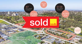 Development / Land commercial property sold at 47 & 51-57 Hyland Street Fyansford VIC 3218