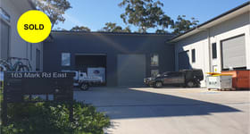 Factory, Warehouse & Industrial commercial property sold at 2/163 Mark Road East Caloundra West QLD 4551