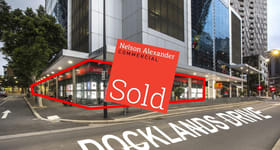 Offices commercial property sold at 1/399 Docklands Drive Docklands VIC 3008
