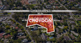 Development / Land commercial property for sale at 12 - 22 Mount Dandenong Road Croydon VIC 3136