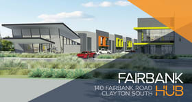 Factory, Warehouse & Industrial commercial property for lease at 19 (Wareho/140 Fairbank Road Clayton South VIC 3169