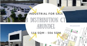 Factory, Warehouse & Industrial commercial property for sale at Lot 10 Distribution Court Arundel QLD 4214