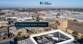 Factory, Warehouse & Industrial commercial property for sale at 6 - 8 Rennick Street Preston VIC 3072
