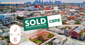 Development / Land commercial property sold at 34 & 36 James Street (Corner of Nathan Place) Windsor VIC 3181