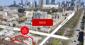 Development / Land commercial property sold at 458 Victoria Parade East Melbourne VIC 3002
