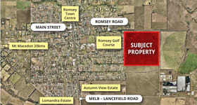 Development / Land commercial property for sale at Romsey VIC 3434