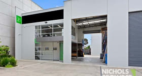 Factory, Warehouse & Industrial commercial property sold at Unit 21/47 Wangara Road Cheltenham VIC 3192