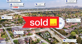 Development / Land commercial property sold at 88-90 Union Street Brighton East VIC 3187