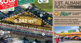 Shop & Retail commercial property sold at 3 St Albans Road St Albans VIC 3021