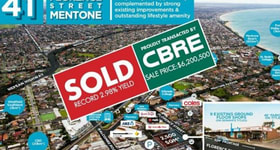 Shop & Retail commercial property sold at 41 Florence Street Mentone VIC 3194