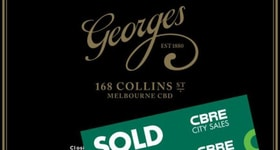 Shop & Retail commercial property sold at 168 Collins Street Melbourne VIC 3000