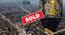 Development / Land commercial property sold at 117 Kooyong Road & 21-23 Munro Street Armadale VIC 3143