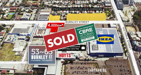 Development / Land commercial property sold at 53-65 Burnley Street Richmond VIC 3121