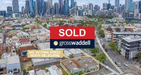 Development / Land commercial property sold at 542-548 Victoria Street North Melbourne VIC 3051
