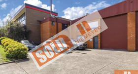 Factory, Warehouse & Industrial commercial property sold at Unit 2/69 Powers Road Seven Hills NSW 2147
