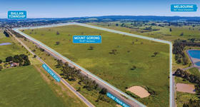 Development / Land commercial property for sale at Mount Gorong 85 Ingliston Road Ballan VIC 3342