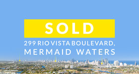 Medical / Consulting commercial property sold at 299 Rio Vista Boulevard Mermaid Waters QLD 4218