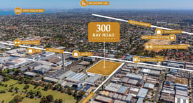 Factory, Warehouse & Industrial commercial property for sale at Lots 14-18, 300 Bay Road Cheltenham VIC 3192