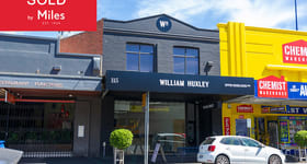Shop & Retail commercial property sold at 115 Upper Heidelberg Road Ivanhoe VIC 3079