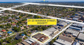 Showrooms / Bulky Goods commercial property sold at 21-23 Wannan Street Highett VIC 3190