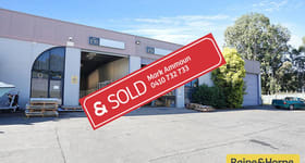 Factory, Warehouse & Industrial commercial property sold at E10 & E11/11-15 Moxon Road Punchbowl NSW 2196