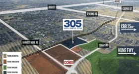 Development / Land commercial property sold at 305 Harvest Home Road Epping VIC 3076