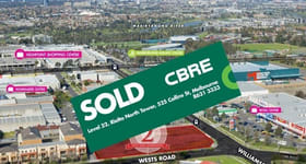 Development / Land commercial property sold at 2 Wests Road Maribyrnong VIC 3032