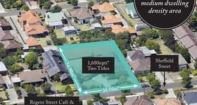 Development / Land commercial property sold at 12-14 Sheffield Street Preston VIC 3072