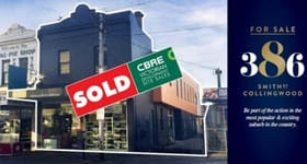Shop & Retail commercial property sold at 386 Smith Street Collingwood VIC 3066