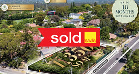 Development / Land commercial property sold at 20 Lower Heidelberg Road Ivanhoe VIC 3079