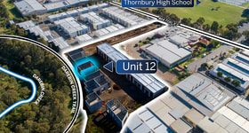 Factory, Warehouse & Industrial commercial property sold at 12/1B Matisi Street Thornbury VIC 3071