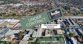 Development / Land commercial property for sale at 15-21 Holden Street Hindmarsh SA 5007