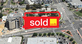 Offices commercial property sold at 101-105 Tram Road Doncaster VIC 3108