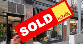 Showrooms / Bulky Goods commercial property sold at Shop 3/188-190 Little Collins Street Melbourne VIC 3000