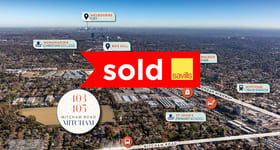 Development / Land commercial property sold at 403-405 Mitcham Road Mitcham VIC 3132
