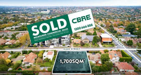 Development / Land commercial property sold at 1542-1544 High Street Glen Iris VIC 3146