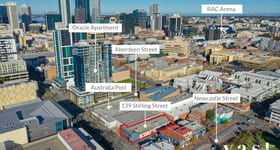 Development / Land commercial property for sale at 139 Stirling Street Perth WA 6000
