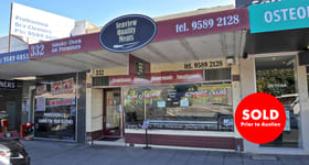 Shop & Retail commercial property sold at 332 Balcombe Road Beaumaris VIC 3193