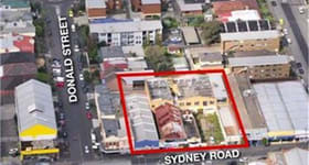 Development / Land commercial property sold at 808 - 818 Sydney Road Brunswick VIC 3056
