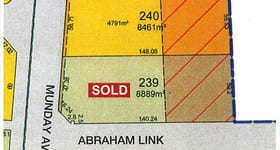 Factory, Warehouse & Industrial commercial property sold at 43 (Lot 240) Munday Avenue Pinjarra WA 6208
