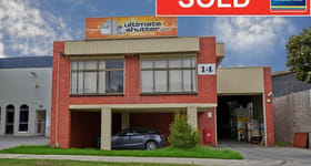 Factory, Warehouse & Industrial commercial property sold at 14 Duffy Street Burwood VIC 3125