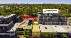 Development / Land commercial property sold at 177-179 Burwood Road Hawthorn VIC 3122