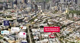 Development / Land commercial property sold at 68-74 Courtney Street North Melbourne VIC 3051