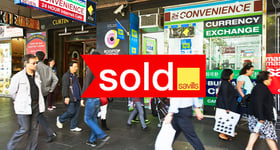 Showrooms / Bulky Goods commercial property sold at 250 Swanston Street Melbourne VIC 3000